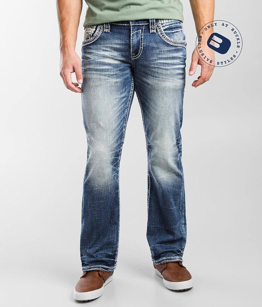 Rock Revival Anburn Boot Stretch Jean front view