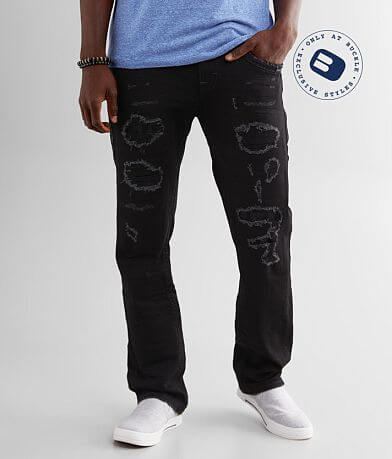 Rock Revival Aquatic Straight Stretch Jean