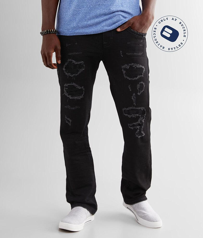 Rock Revival Aquatic Straight Stretch Jean front view