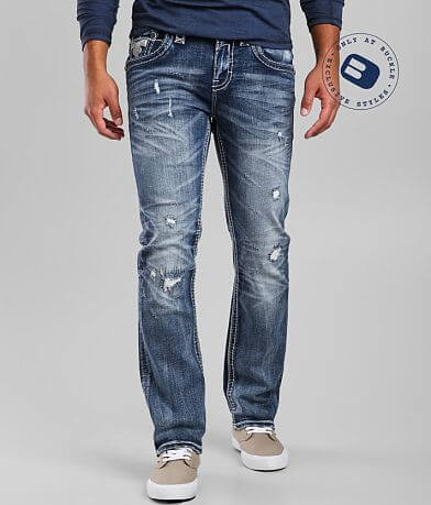 Rock Revival Blue Grotto Straight Stretch Jean