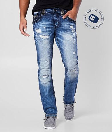 Rock Revival Earnesto Slim Straight Stretch Jean