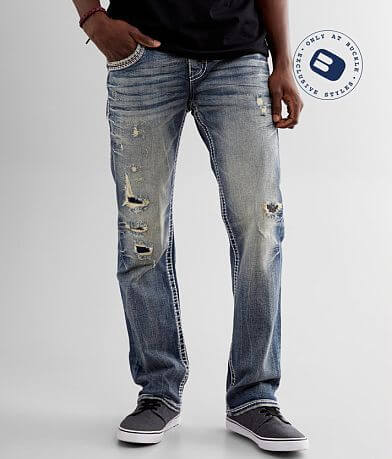 Rock Revival Zinfandel Straight Stretch Jean