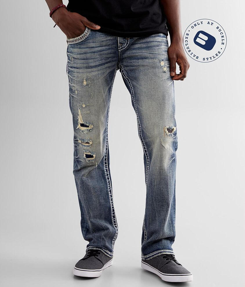 Rock Revival Zinfandel Straight Stretch Jean front view