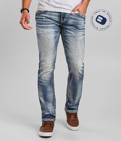 Rock Revival Peat Straight Stretch Jean