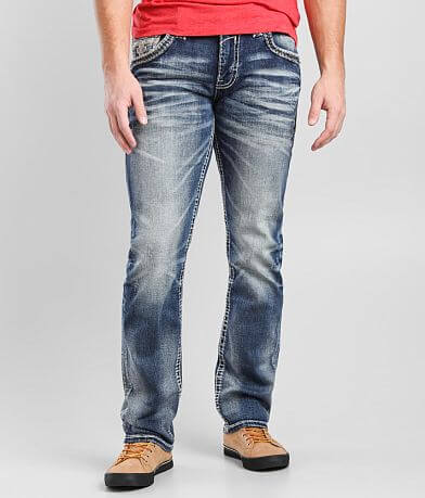 Rock Revival Ensingblue Straight Stretch Jean