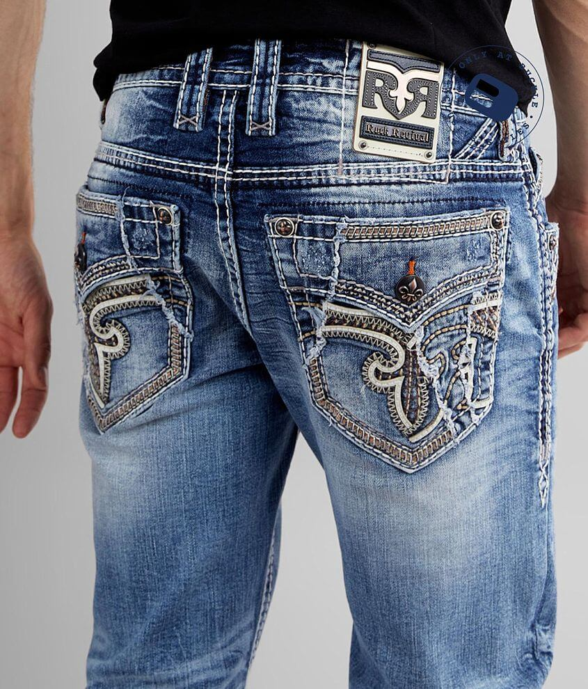 Rock Revival Alpine Straight Stretch Jean front view