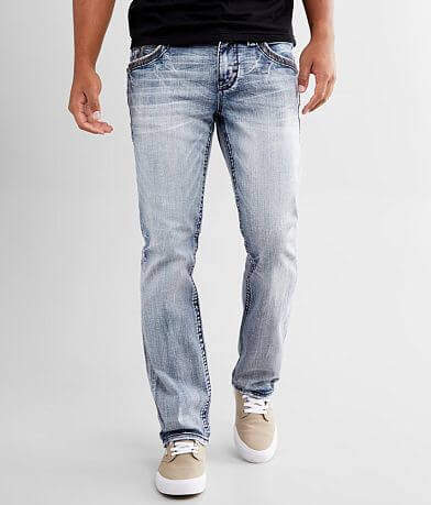 Rock Revival Woodley Straight Stretch Jean