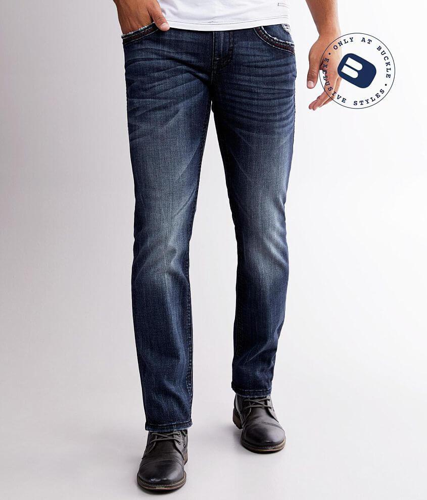 Rock Revival Brayen Slim Straight Stretch Jean front view
