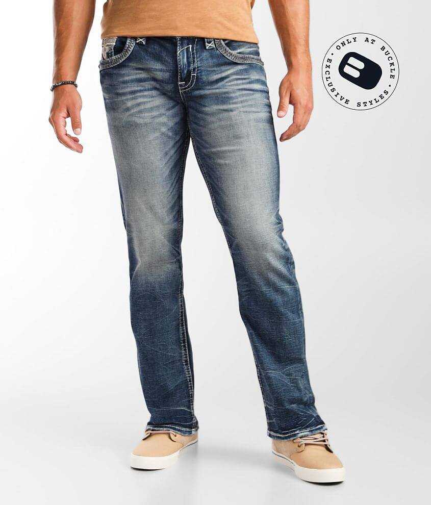 Rock Revival Satellite Boot Stretch Jean front view