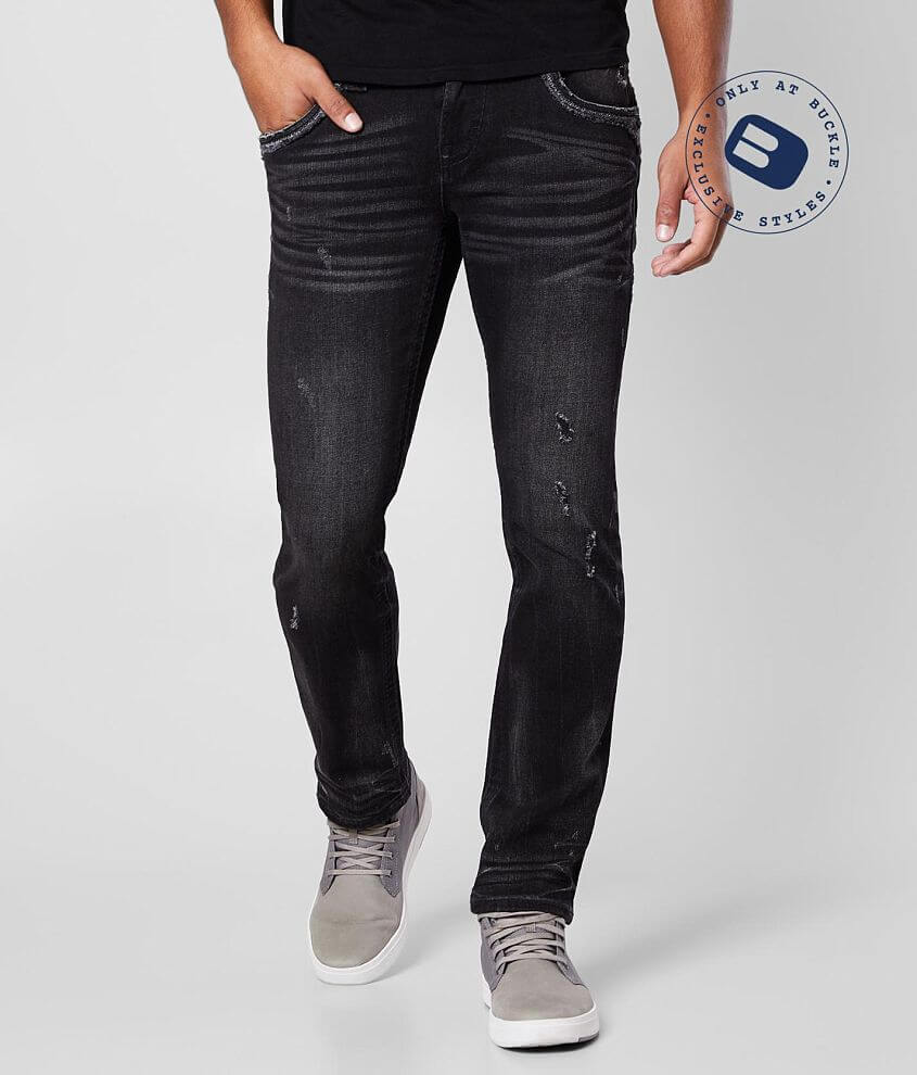 Rock Revival Leeroy Slim Straight Stretch Jean front view