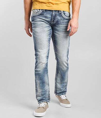 Rock Revival Brunette Straight Stretch Jean