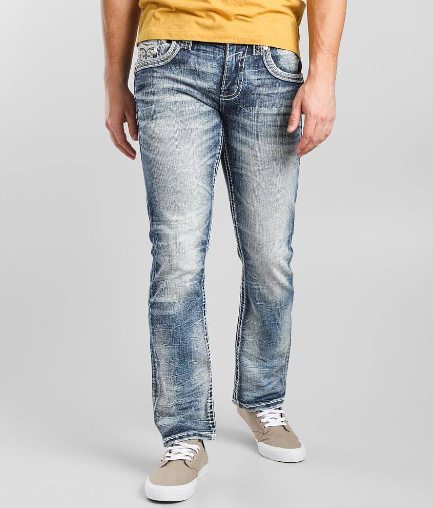 Rock Revival Brunette Straight Stretch Jean front view