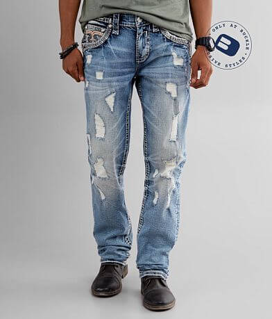 Rock Revival Greyton Straight Stretch Jean