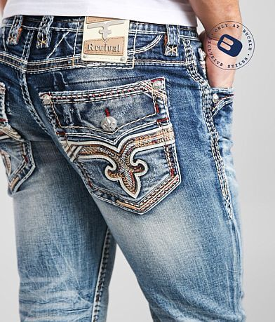 Rock Revival Pauly Slim Boot Stretch Jean