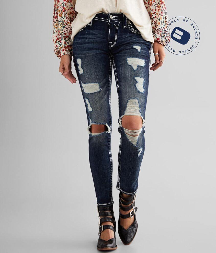Rock Revival Celinda Ankle Skinny Stretch Jean front view