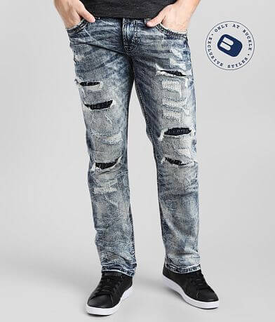 Rock Revival Golden Palm Straight Stretch Jean