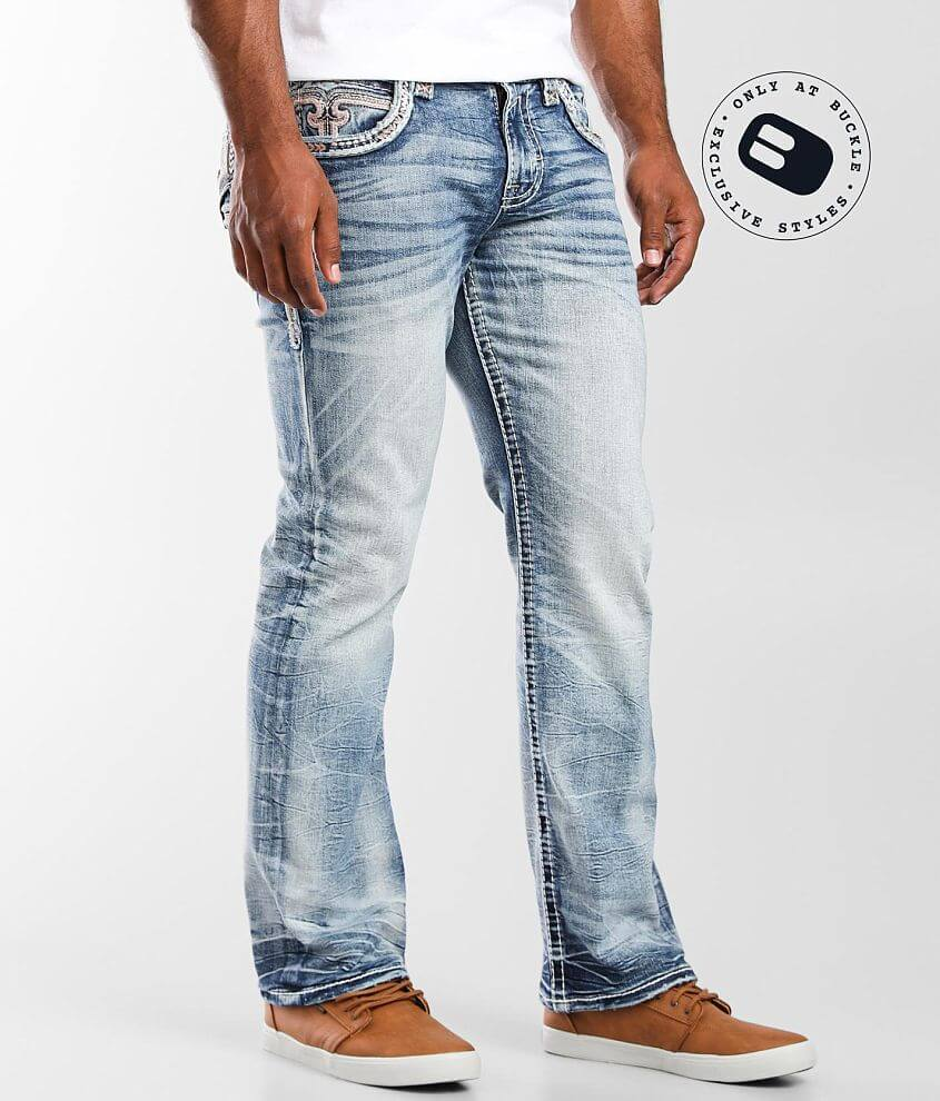 Rock Revival Gary Boot Stretch Jean front view