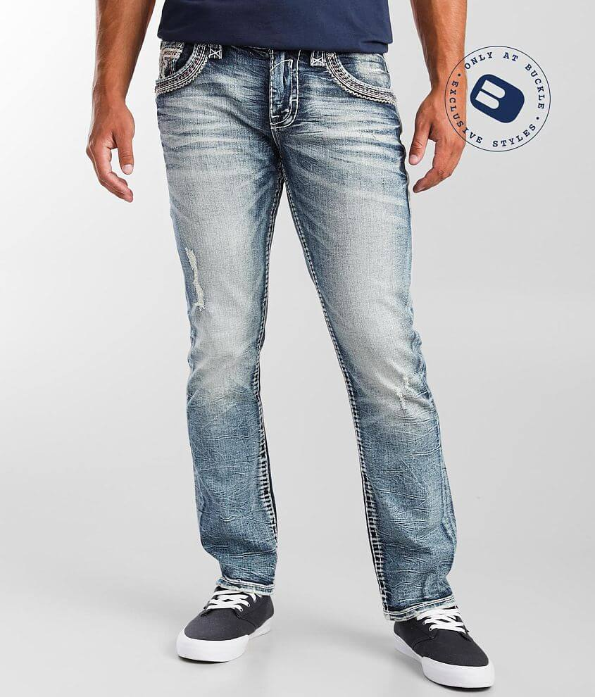 Rock Revival Taiki Straight Stretch Jean front view