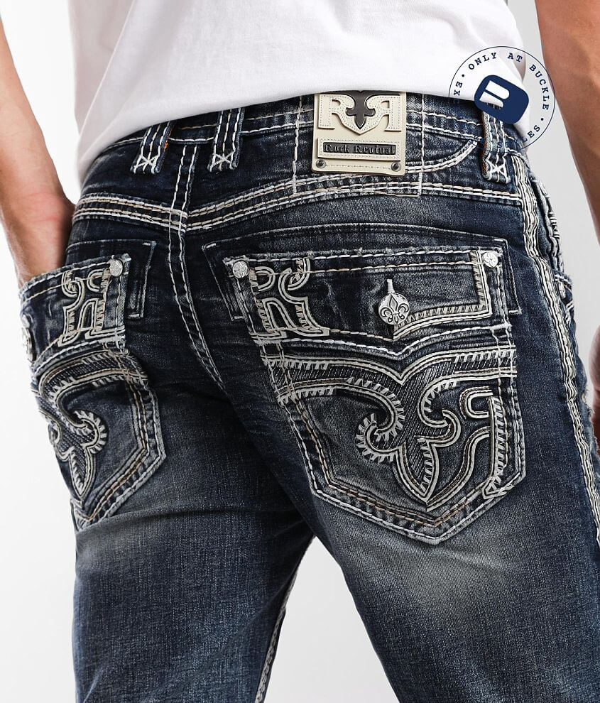 Rock Revival Talen Straight Stretch Jean front view