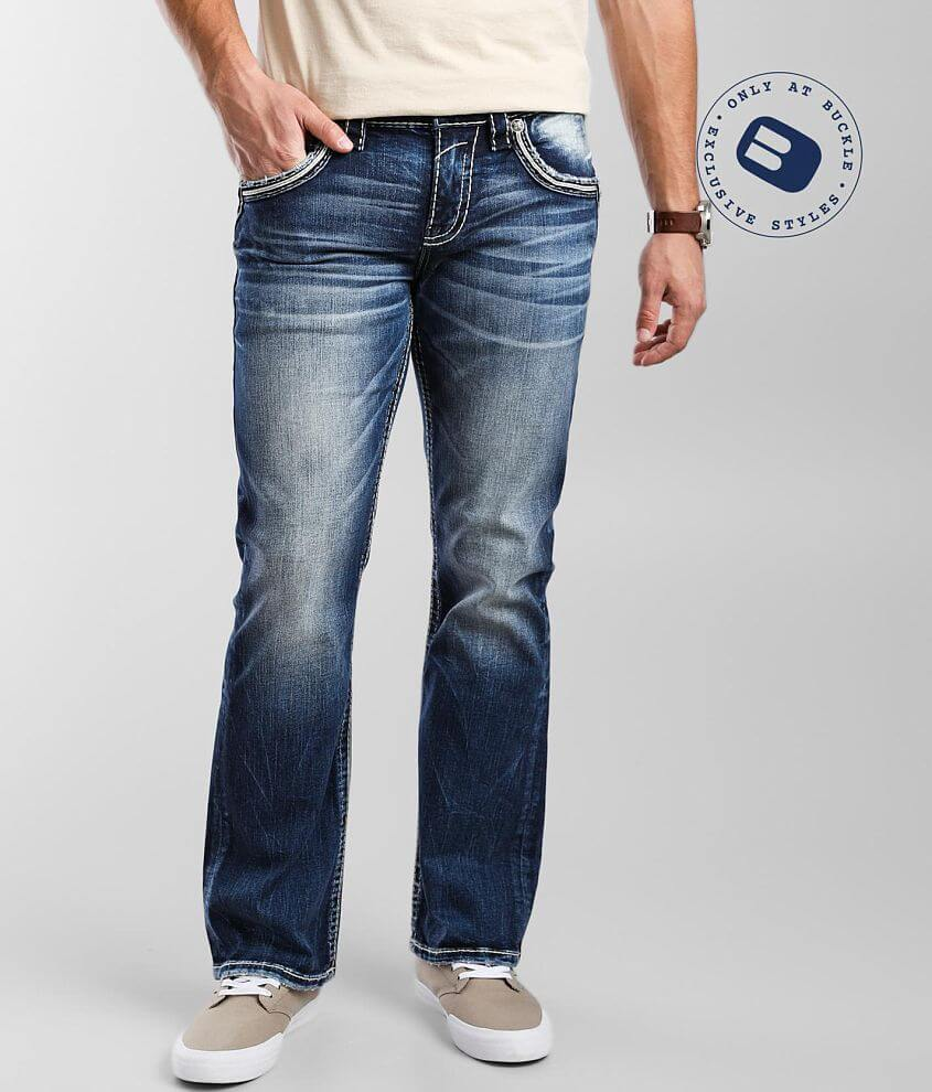 Rock Revival Amoux Boot Stretch Jean front view