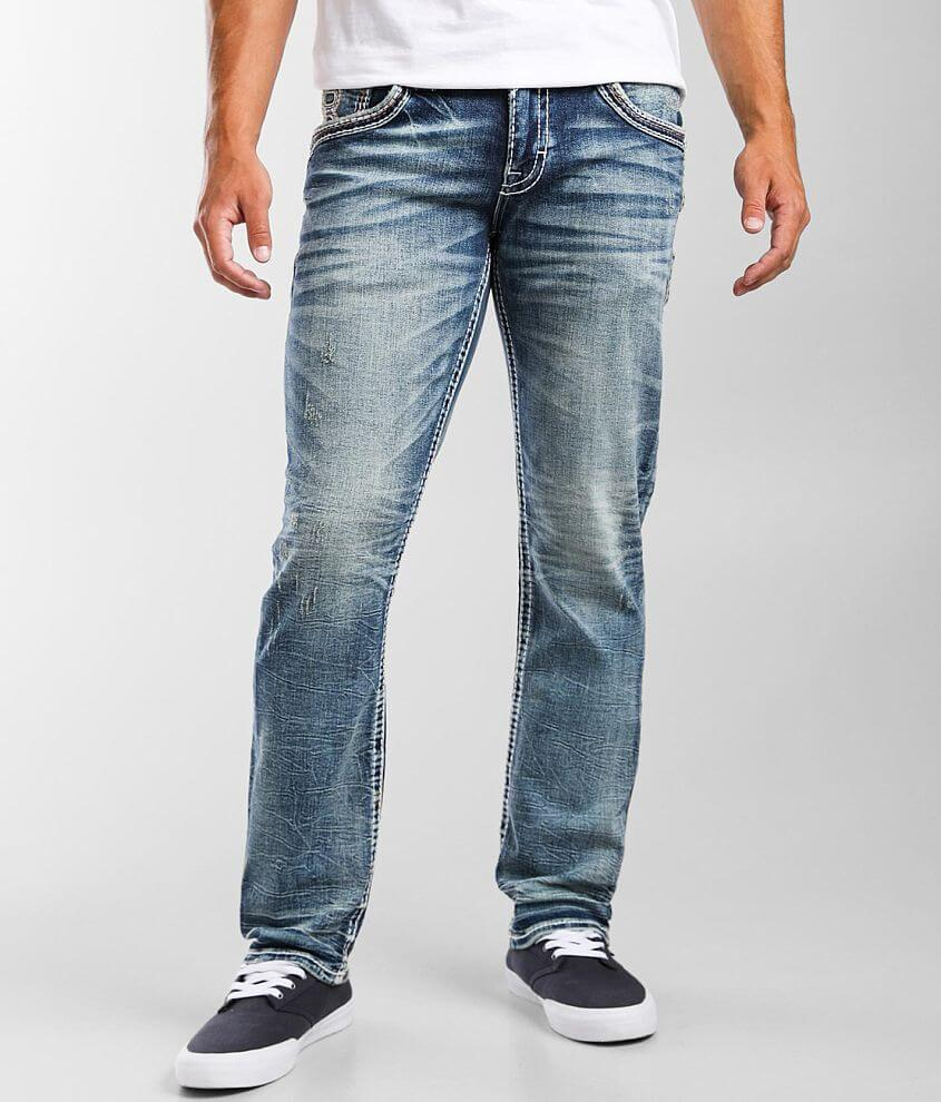 Rock Revival Tanix Straight Stretch Jean front view