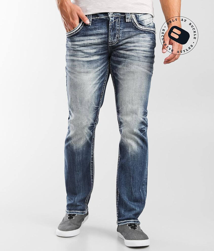 Rock Revival Tate Straight Stretch Jean front view