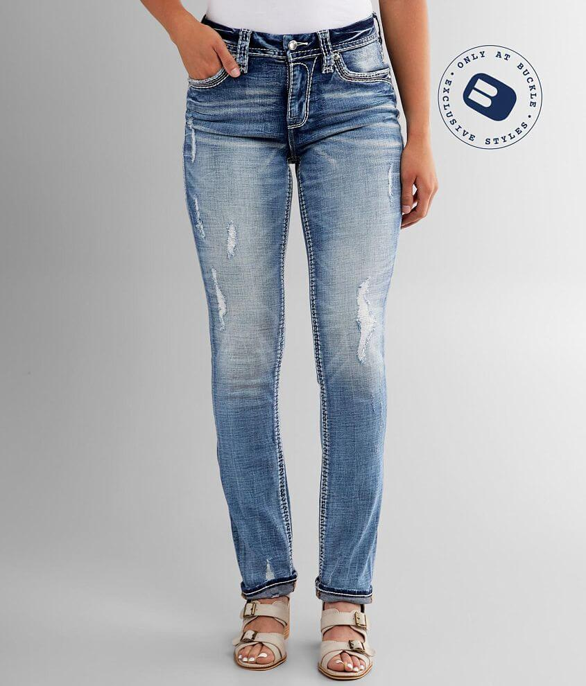 Rock Revival Vien Easy Straight Stretch Jean front view