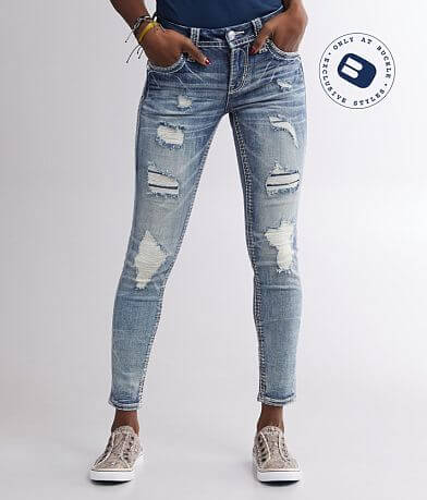 Rock Revival Vien Mid-Rise Ankle Skinny Jean