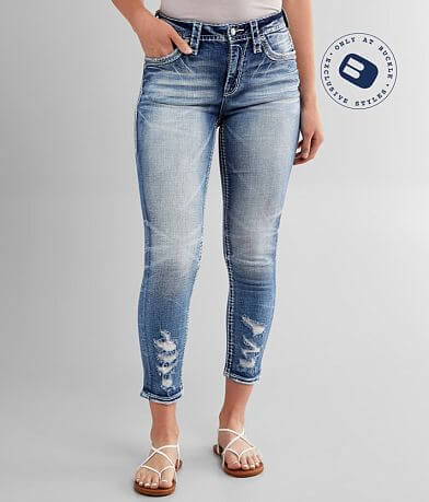 Rock Revival Coral Haze Easy Ankle Skinny Jean