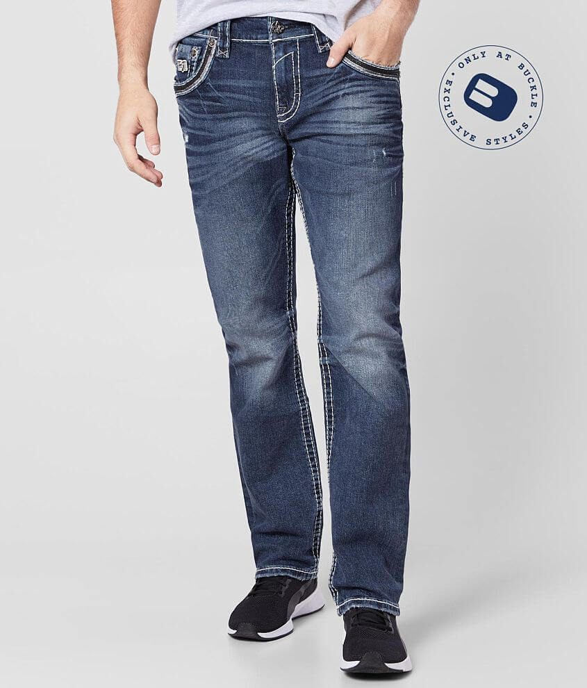 Rock Revival Daryl Relaxed Taper Stretch Jean front view