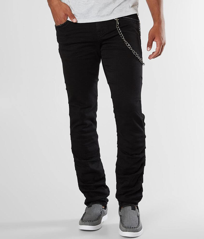 Slim fit jean Flex 4-way stretch fabric Tapered from knee to hem Low rise, 13\\\