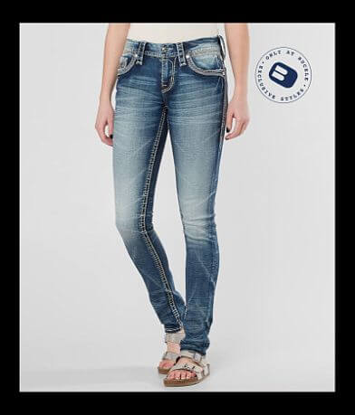 Rock Revival Dariel Mid-Rise Skinny Stretch Jean