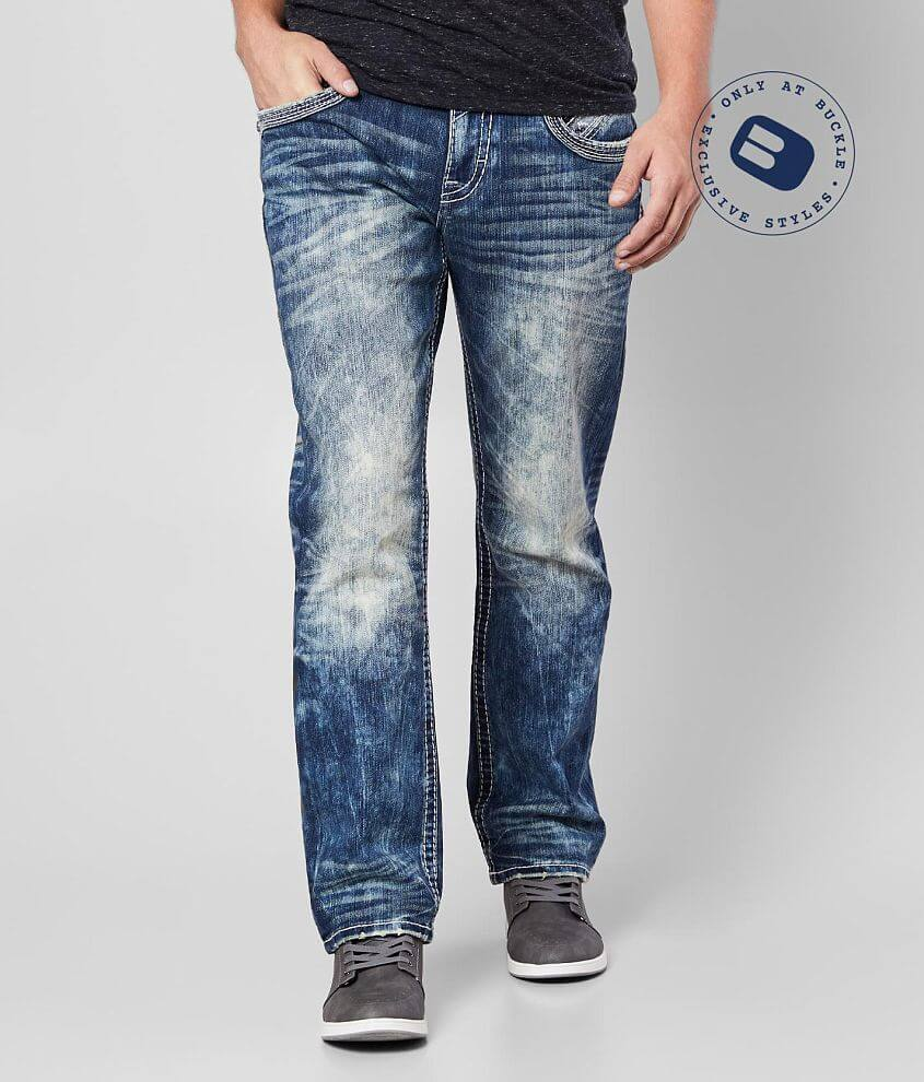 Rock Revival Dewkist Relaxed Taper Stretch Jean front view