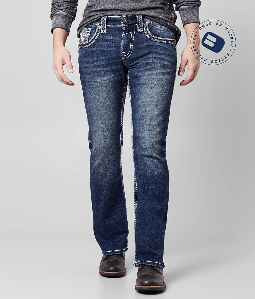 Rock Revival Alloy Slim Boot Stretch Jean front view