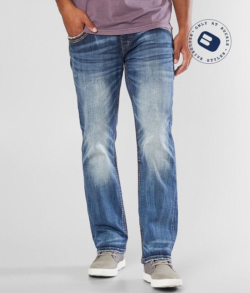 Rock Revival Chace Relaxed Taper Stretch Jean front view