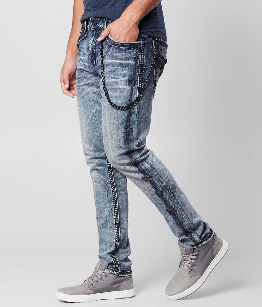Rock Revival Ascot Slim Taper Stretch Jean front view