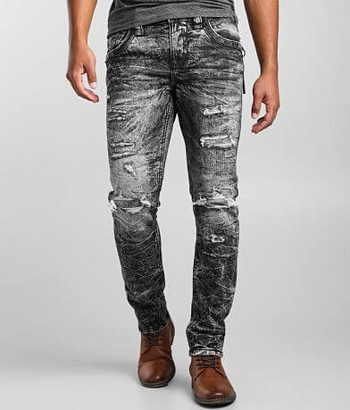 Rock Revival Benton Relaxed Taper Stretch Jean