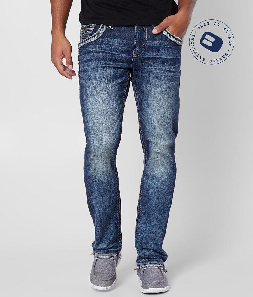 Rock Revival Trellis Slim Straight Stretch Jean front view