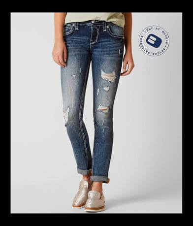 Rock Revival Lam Straight Stretch Jean