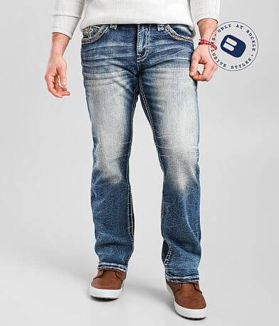 Rock Revival Rexford Relaxed Taper Stretch Jean