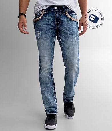 Rock Revival Rexford Slim Straight Stretch Jean