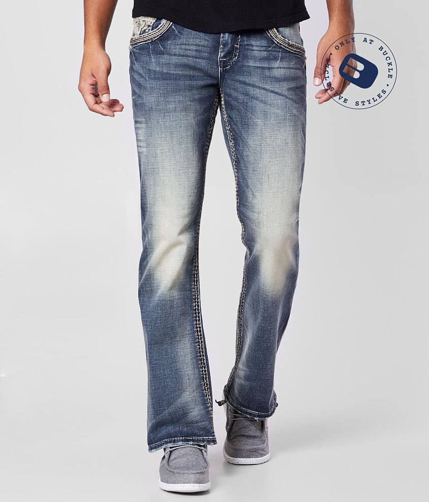 Rock Revival Marston Slim Boot Stretch Jean front view