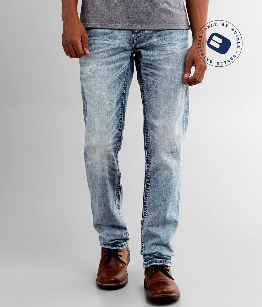 Rock Revival Wendover Slim Straight Jean front view