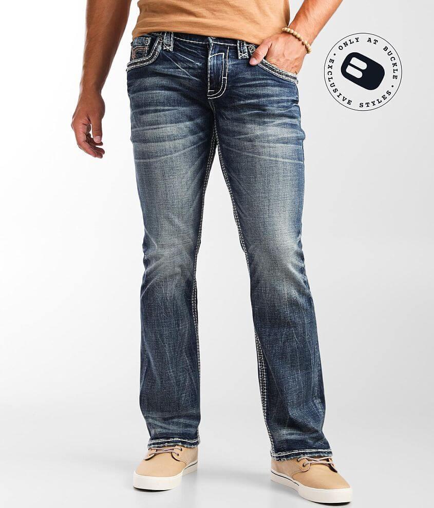 Rock Revival Elmwood Slim Boot Stretch Jean front view
