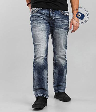 Rock Revival Biscay Relaxed Taper Stretch Jean