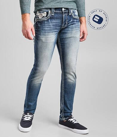 Rock Revival Biscay Bay Slim Taper Stretch Jean