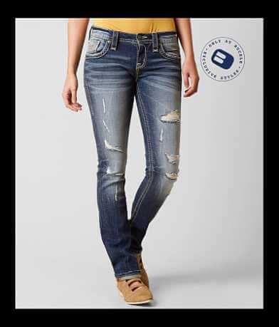 Rock Revival Joyelle Straight Stretch Jean