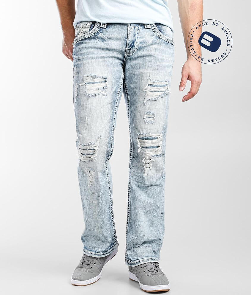 Rock Revival Aquifer Slim Boot Stretch Jean front view