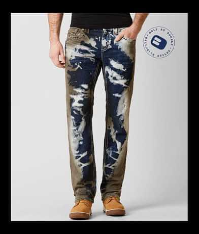 Rock Revival Aaric Straight Stretch Jean