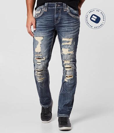 Rock Revival Jevan Slim Straight Stretch Jean